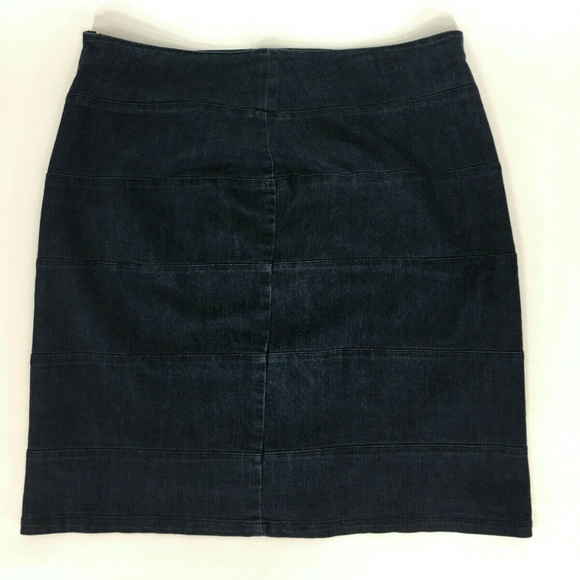 Ashley Stewart Dresses & Skirts - Ashley Stewart Women's Jean  Skirt Blue Size 16